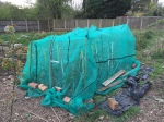 ma's newly created cabbage cage