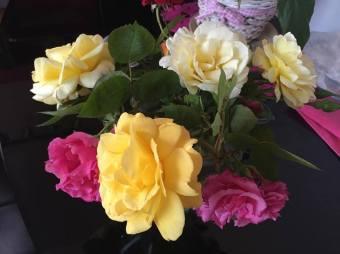 first bouquet