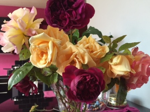 clutch of roses
