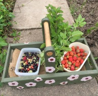 trug of fruit