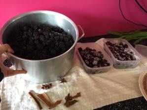 blackberry wine prep